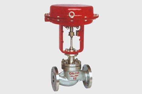 气动薄膜直通单座、套筒调节阀